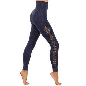 Faded workout leggings full length